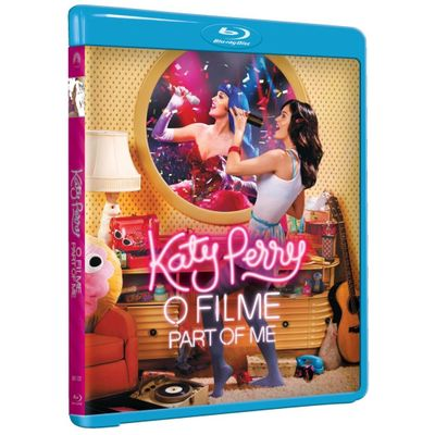 Katy Perry - o Filme - Part Of Me - Blu-Ray