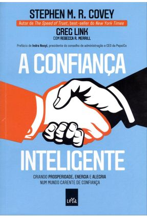 A Confiança Inteligente - Covey,Stephen M. R. Link,Greg pdf epub