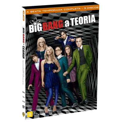 DVD Big Bang: A Teoria - 6ª Temporada - 3 Discos