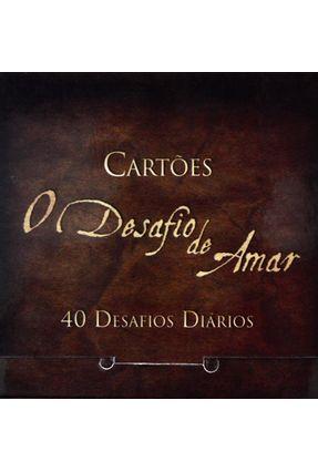 Cartões o Desafio de Amar - 40 Desafios Diários - Films,Bv pdf epub
