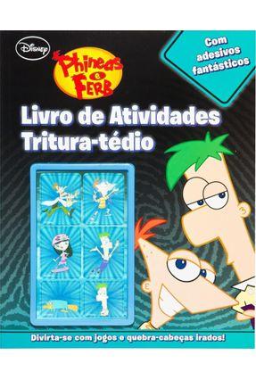 Livro de Atividades Tritura-Tédio - Disney | Hoshan.org