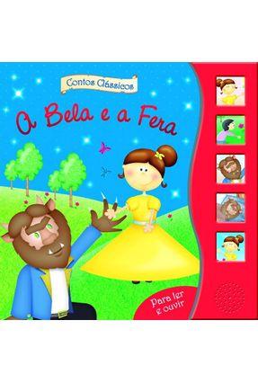 A Bela e A Fera - Col. Contos Clássicos Para Ler e Ouvir - Ciranda Cultural | Tagrny.org