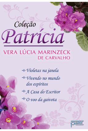Box - Coleção Patrícia - 4 Vols. - Carvalho,Vera Lúcia Marinzeck de | Hoshan.org