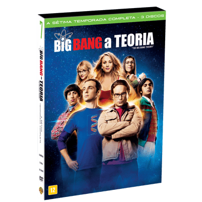 DVD Big Bang: A Teoria - 7ª Temporada - 3 Discos