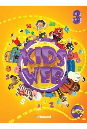 Kids´ Web 3 - Livro do Aluno - 2ª Ed. 2014 + DVD-ROM + CD Áudio - Richmond,Editora pdf epub