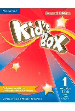 Kids Box 1 - Activity Book With Online Resources - D - Cambridge University Press | Hoshan.org