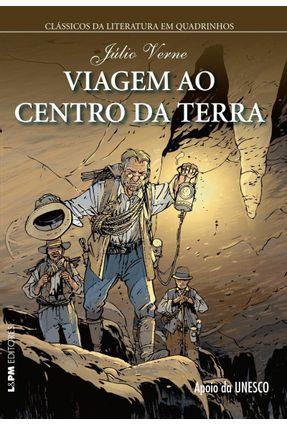 Viagem ao Centro da Terra - Col. Clássicos da Literatura Em Quadrinhos - Verne,Jules   Hoshan.org