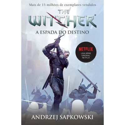 A Espada Do Destino - The Witcher - Vol. 2 - Capa Game