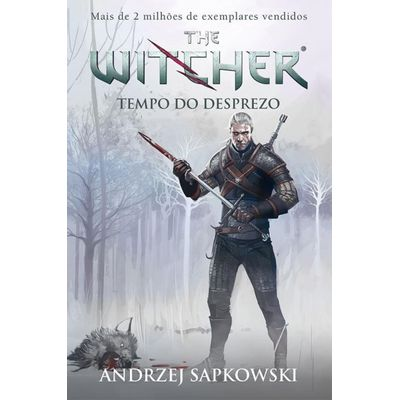 Tempo Do Desprezo - The Witcher - Vol. 4 - Capa Game
