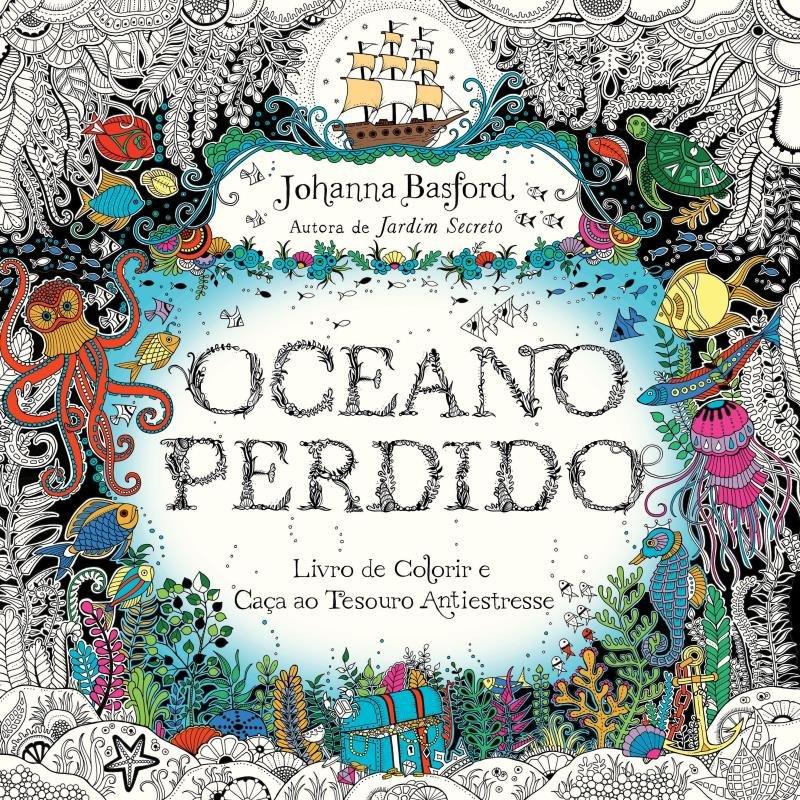 Oceano Perdido Livro De Colorir E Aventura Submarina Saraiva