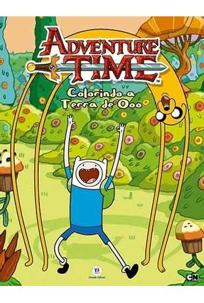 Colorindo A Terra de Ooo - Col. Adventure Time - Editora Ciranda Cultural | Nisrs.org