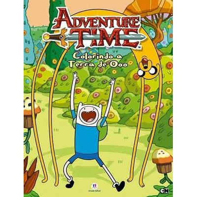 Colorindo A Terra de Ooo - Col. Adventure Time