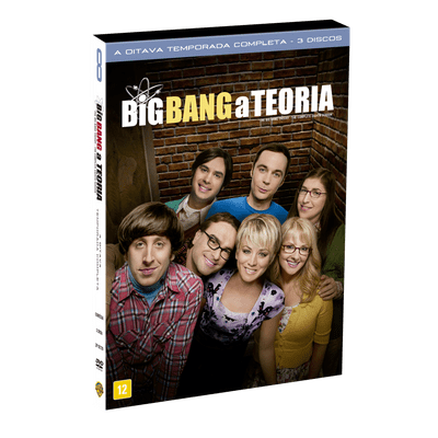 DVD Big Bang: A Teoria - 8ª Temporada - 3 Discos