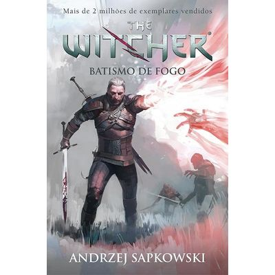Batismo De Fogo - The Witcher - Vol. 5 - Capa Game