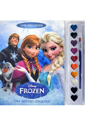 Frozen - Uma Aventura Congelante - Col. Aquarela Disney - Cultural,Difusão | Tagrny.org