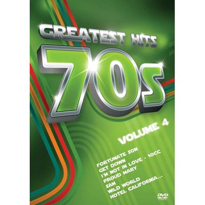 Greatest Hits Anos 70 - Vol. 4 - DVD