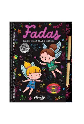 Fadas - Raspe, Descubra e Desenhe - Editora Catapulta   Nisrs.org