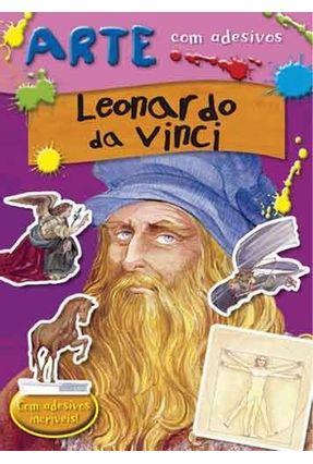 Leonardo da Vinci - Col. Arte Com Adesivos - Moran,Jose | Nisrs.org
