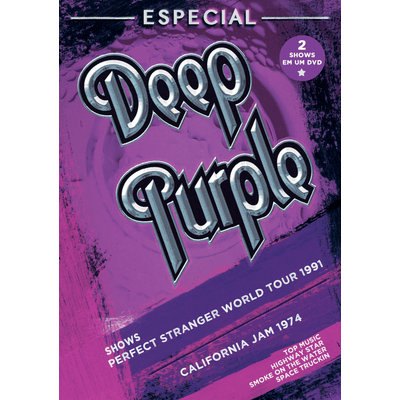 Deep Purple Especial - Perfect Stranger World Tour 1991 + California Jam 1974 - DVD