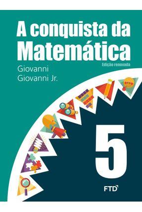 A Conquista da Matemática - 5º Ano -  pdf epub