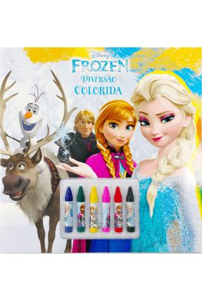 Disney - Diversão Colorida - Frozen - Disney-Pixar Equipe Dcl pdf epub