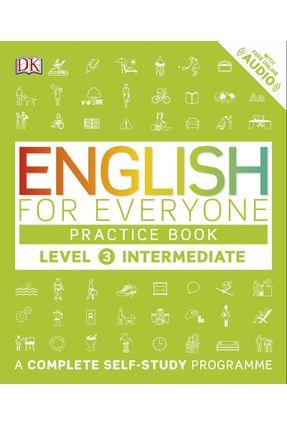 English For Everyone Practice Book Level 3 Intermediate - Dk | Hoshan.org