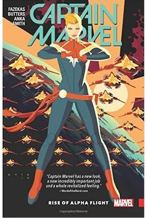 Captain Marvel Vol. 1- Rise Of Alpha Flight - Butters,Tara   Tagrny.org