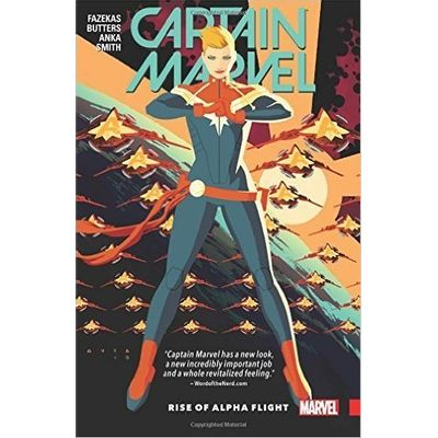 Captain Marvel Vol. 1- Rise Of Alpha Flight
