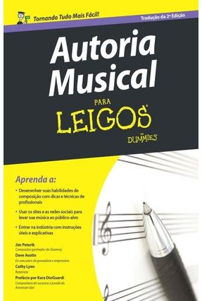Autoria Musical Para Leigos - Austin,Dave Peterik,Jim Lynn,Cathy pdf epub