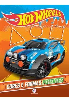 Hot Wheels - Cores E Formas Potentes - Editora Ciranda Cultural | Nisrs.org