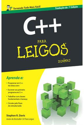 C++ Para Leigos - Tradução da 7ª Edição - Davis,Stephen R. pdf epub