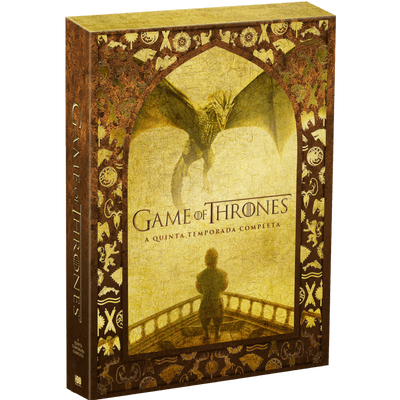 DVD Game Of Thrones - 5ª Temporada - 5 Discos