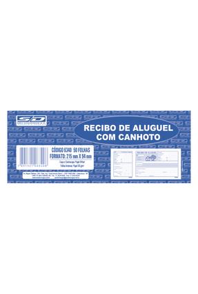 Recibo Aluguel - Com Canhoto - 50 Folhas