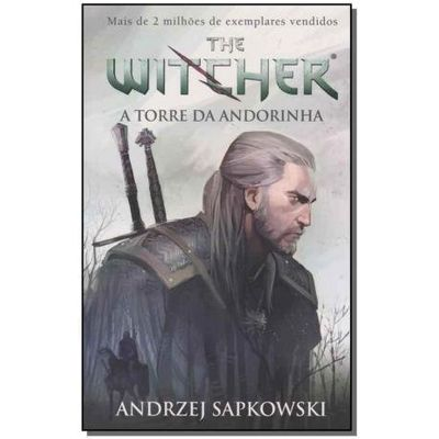 A Torre Da Andorinha - The Witcher - Vol. 6 - Capa Game