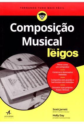 Composição Musical Para Leigos - Day,Holly Jarrett,Scott pdf epub