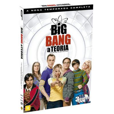 DVD Big Bang: A Teoria - 9ª Temporada - 3 Discos