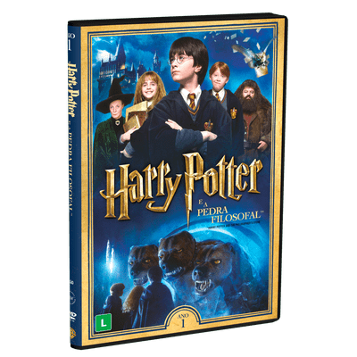 Harry Potter e A Pedra Filosofal - 2 DVDs