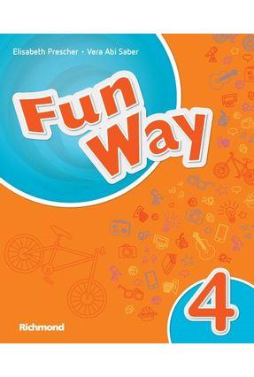 Fun Way 4 - 5ª Ed. 2016 - Elisabeth Prescher Vera Saber   Hoshan.org