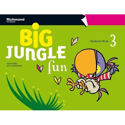 Big Jungle Fun 3 - Student Book