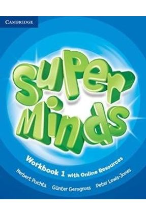 Super Minds British 1 - Workbook With Online Resources - Herbert Puchta   Hoshan.org