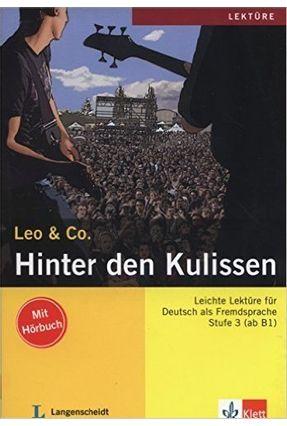 Hinter Den Kulissen - Lektüre Deutsch Als Fremdsprache A2-B1 - Scherling,Theo Burger,Elke   Tagrny.org