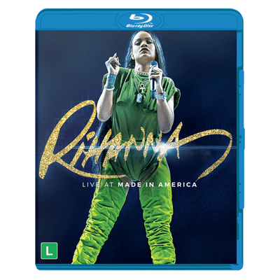 Rihanna - Live At Made In America - Blu-Ray