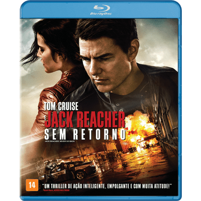 Jack Reacher 2 - Sem Retorno - Blu-Ray