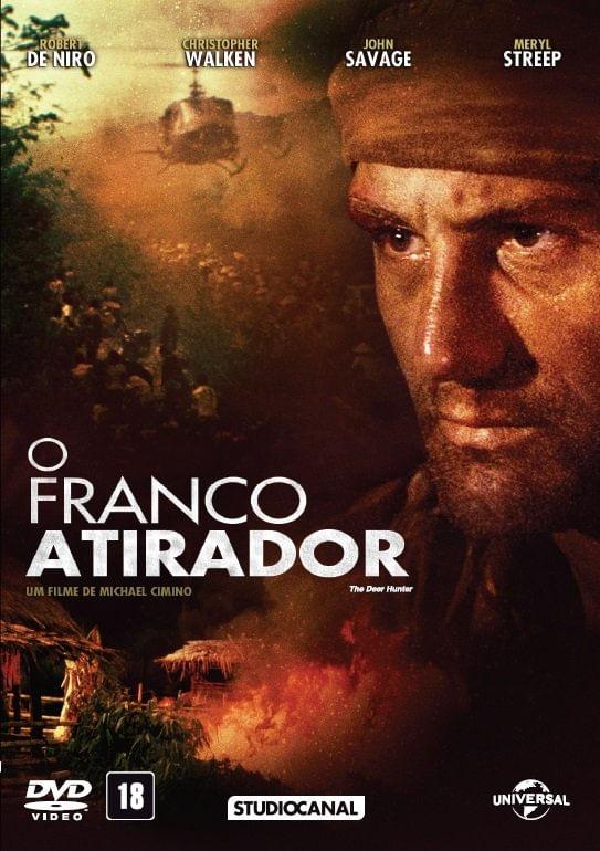 O Franco Atirador - DVD - Saraiva