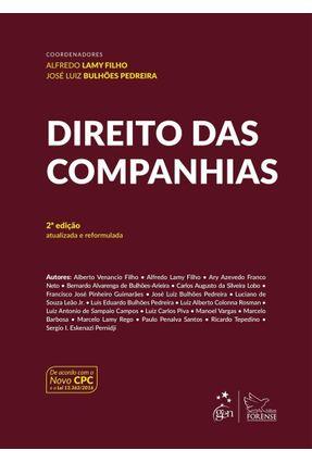 Direito Das Companhias - 2ª Ed. 2017 - Lamy Filho,Alfredo Pedreira,José Luiz Bulhões   Hoshan.org