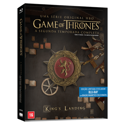 Blu-Ray Game Of Thrones - 2ª Temporada - 5 Discos - Steelbook
