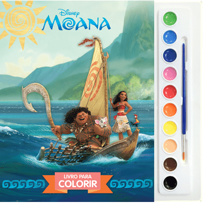 Disney - Aquarela - Moana