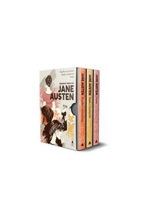 Box - Grandes Obras de Jane Austen - 3 Volumes - Austen,Jane | Hoshan.org