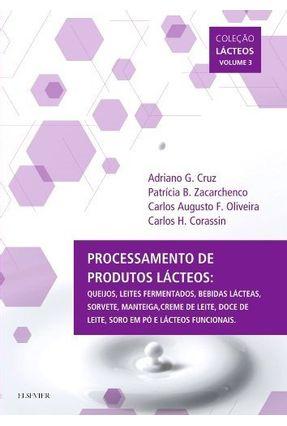 Processamento De Produtos Lácteos - Cruz,Adriano pdf epub