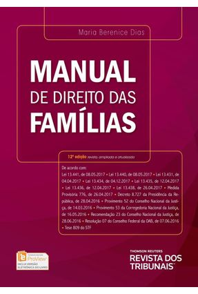 Manual De Direito Das Famílias - 12ª Ed. 2017 - Dias,Maria Berenice pdf epub